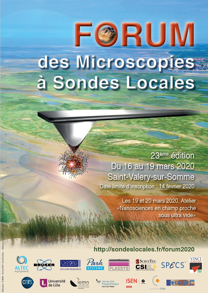 French SPM Days - Forum des Microscopies à Sondes Locales