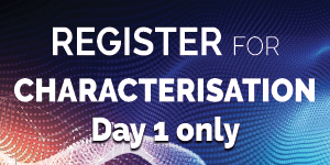 Register for characterisation here
