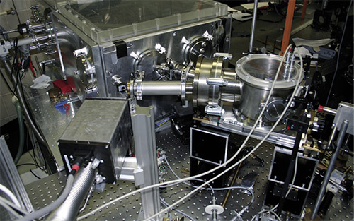 . 1. Time-Resolved X-ray diffraction setup