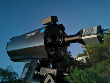 Andor Marana sCMOS Camera for High Speed Astronomical Image Acquisition