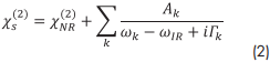 Principles of sum-frequency spectroscopy equation 2
